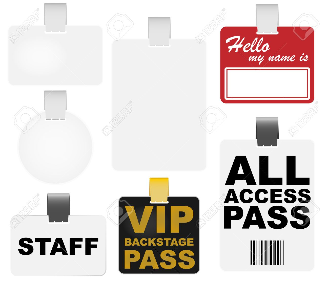Vip Access Pass Vip Pass Collection of