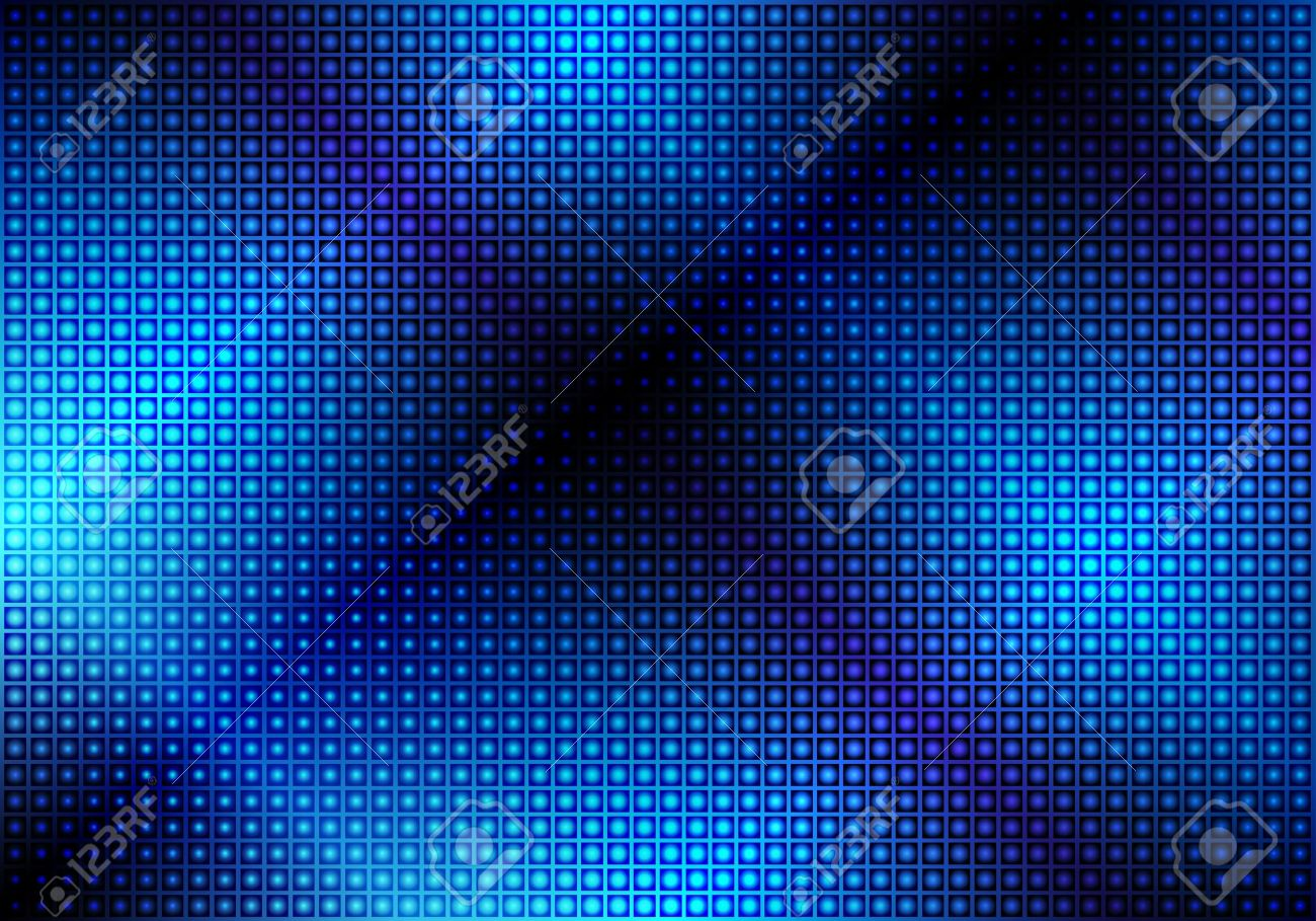 Glowing Blue Abstract Party Background Stock Vector - 11799706