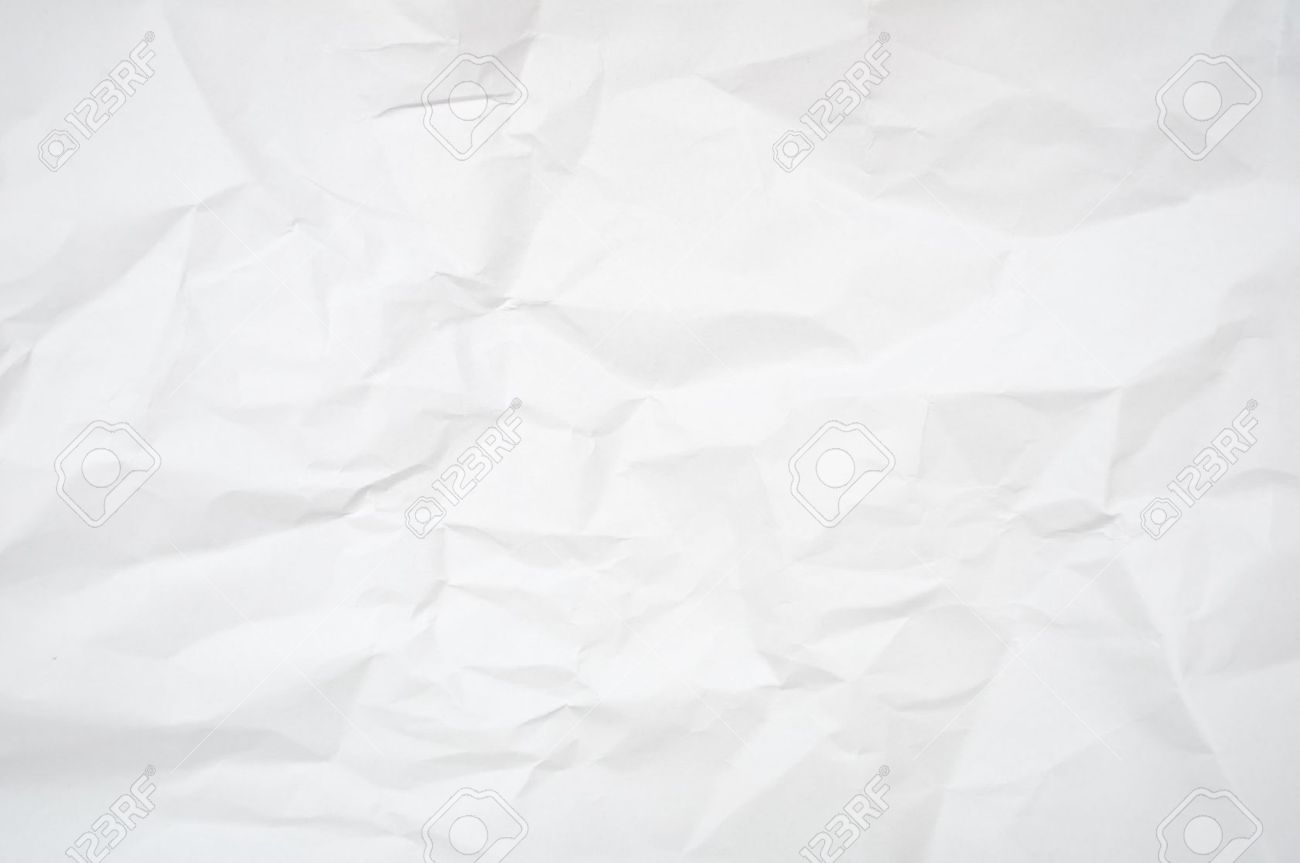 Abstract Background   White Blank Wrinkled Paper Texture Stock Photo    11799713  Blank Paper Background