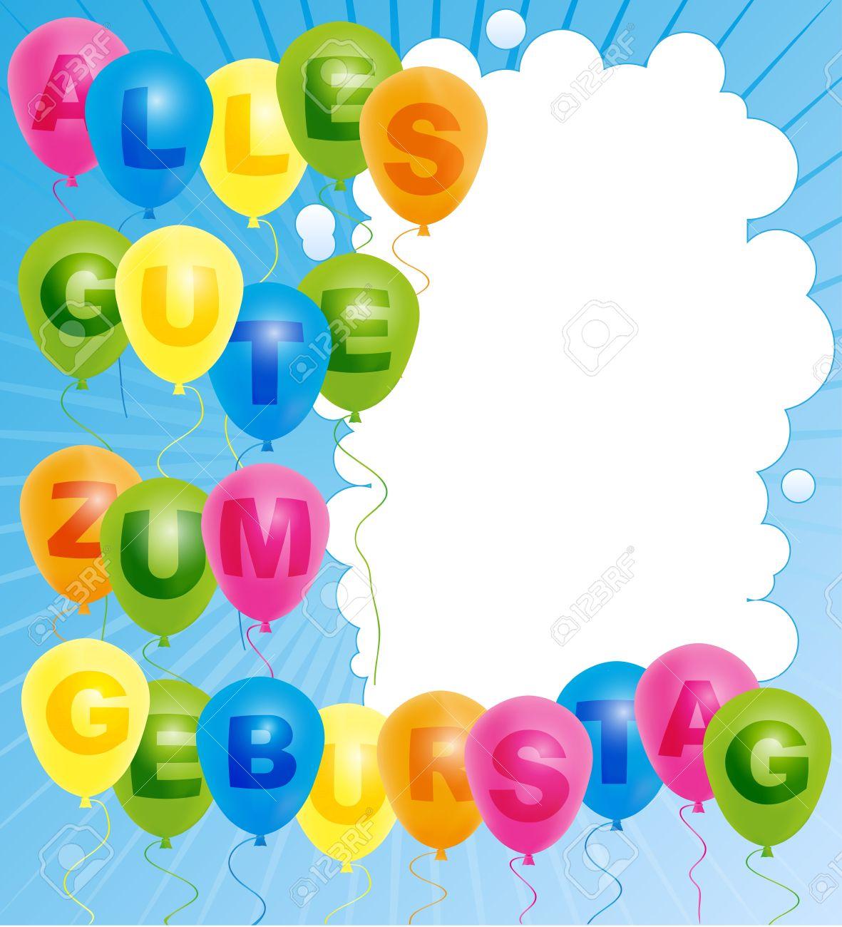 Поздравление с днем рождения на немецком языке для женщины