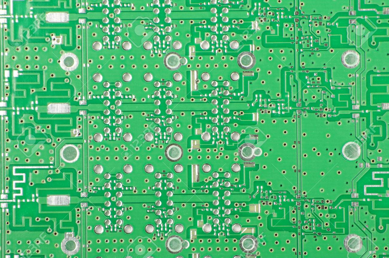 Abstract Photography Of High Frequency Printed Circuit Board Stock Assemblies Pcba S Multi Layer Pcb Photo 41693486