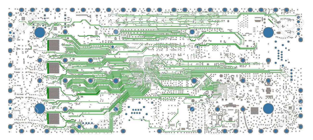 Electronic embedded system design process PCB layout routing