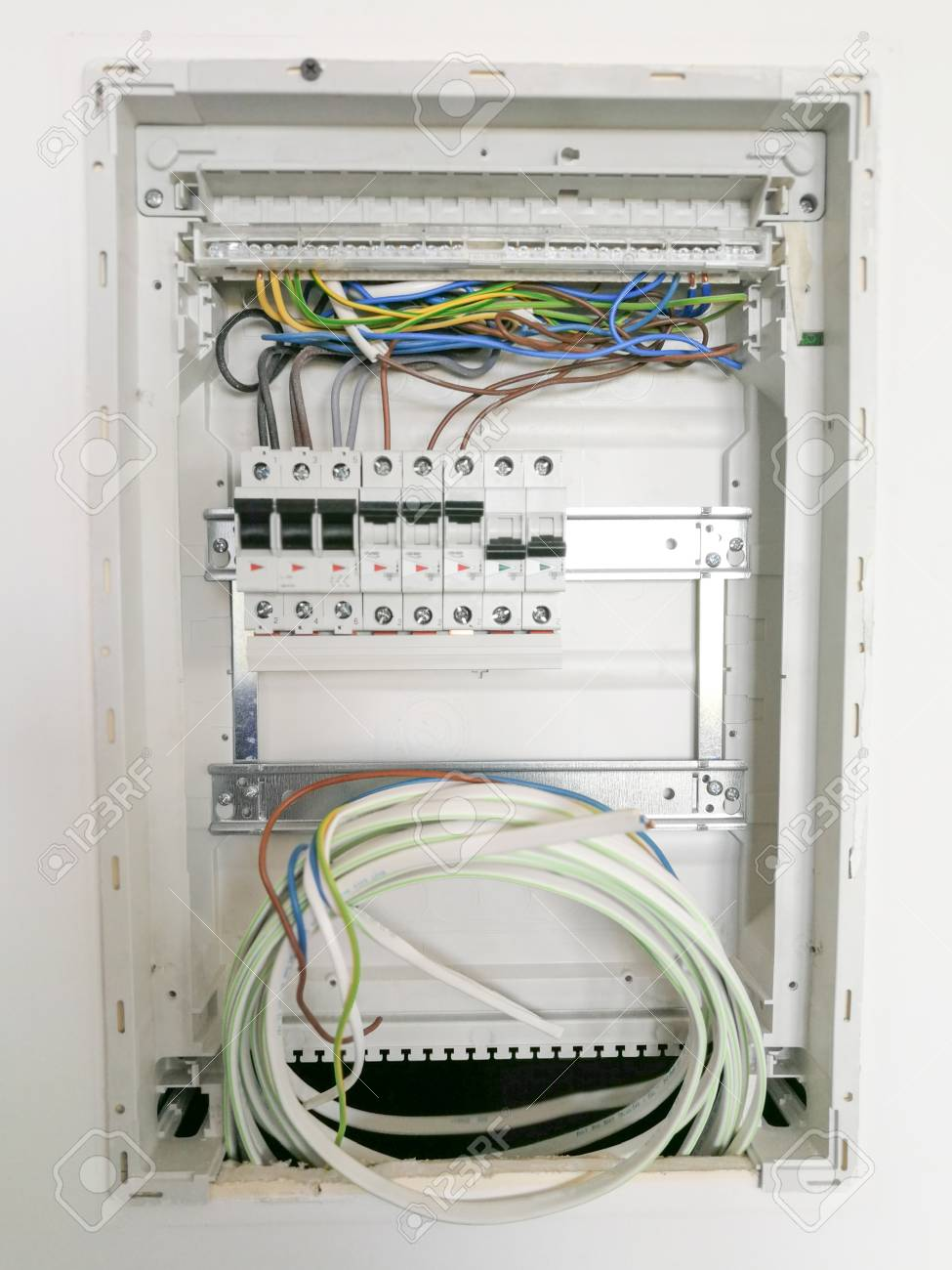 Electric safety switches and wiring inside electrical panel on wiring an electrical service panel, inside electrical plug, inside electrical controller, inside electrical box, inside electrical wire, inside electrical transformer,