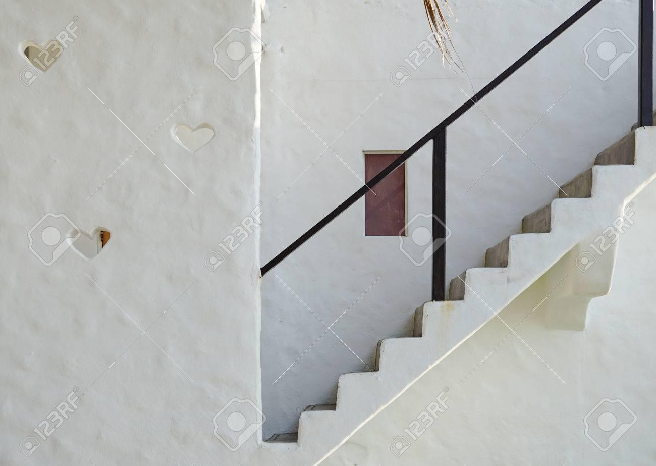 Publicado Escalier Exterieur Avec Garde Corps Noir