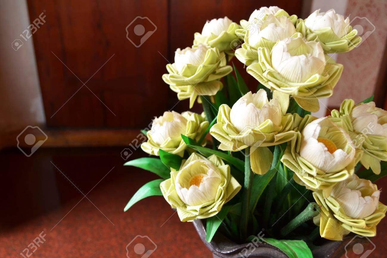 Many lotus flower in ceramic vase at temple stock photo picture and many lotus flower in ceramic vase at temple stock photo 25089876 izmirmasajfo