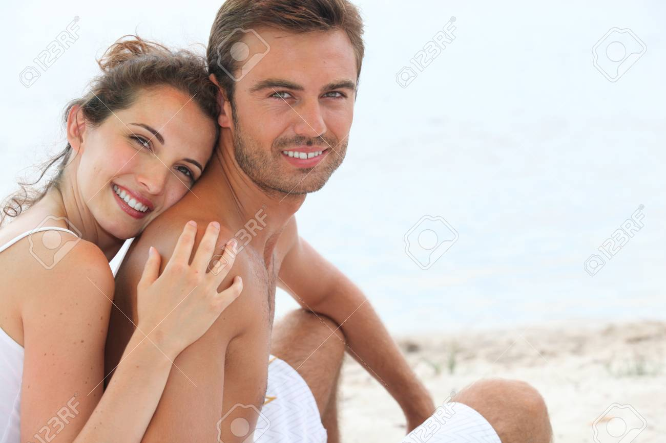 portrait of a couple outdoors Stock Photo - 10746829