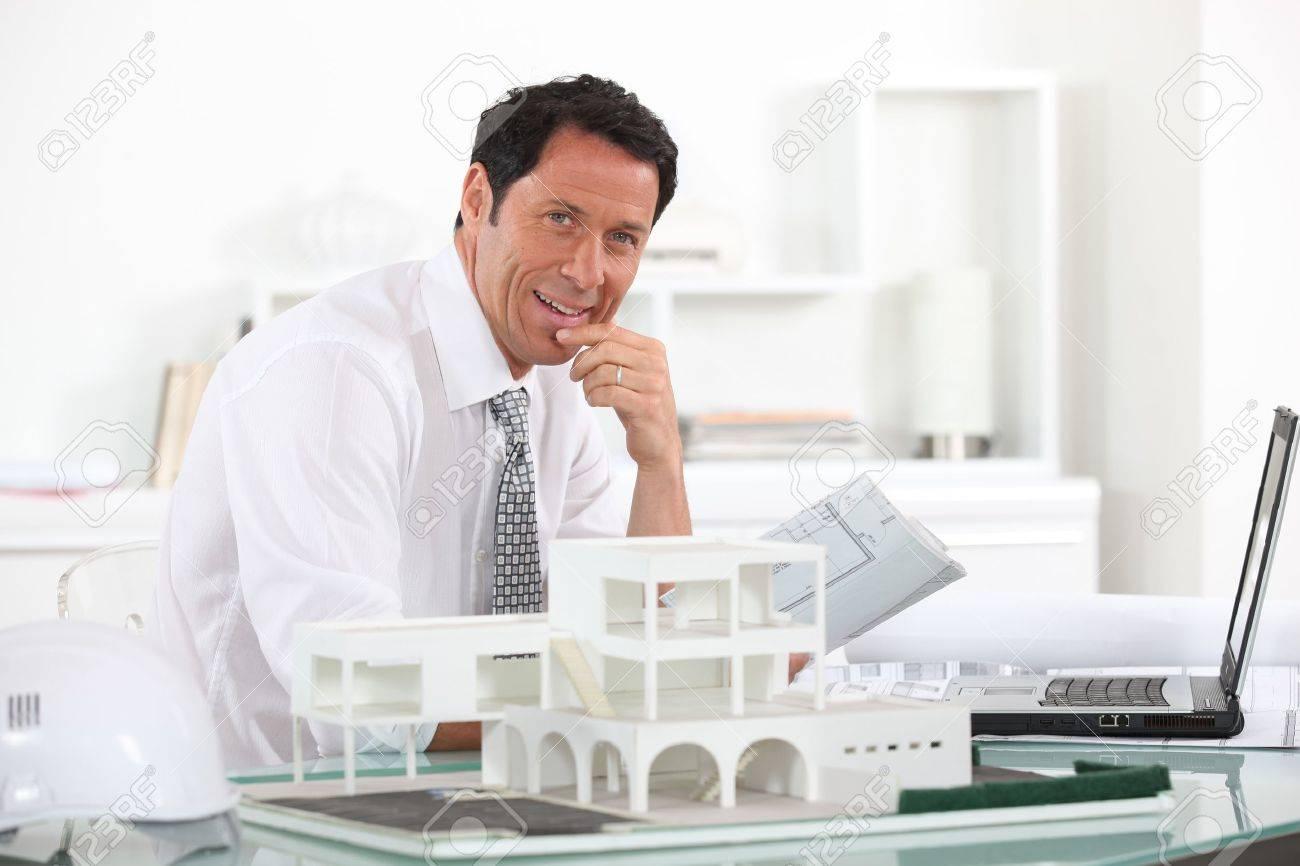 Estate agent Stock Photo - 11717714
