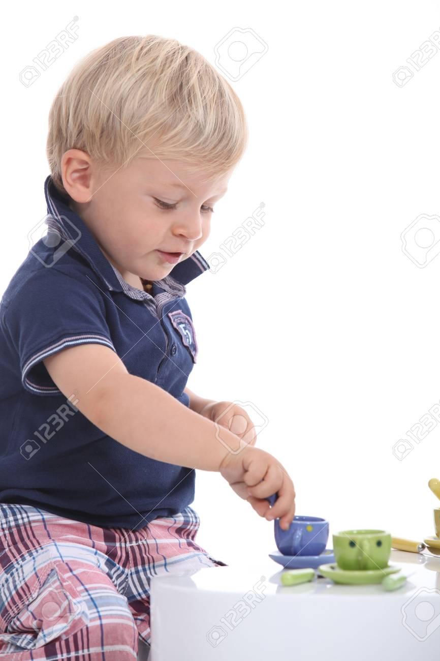 little boy playing Stock Photo - 11717710