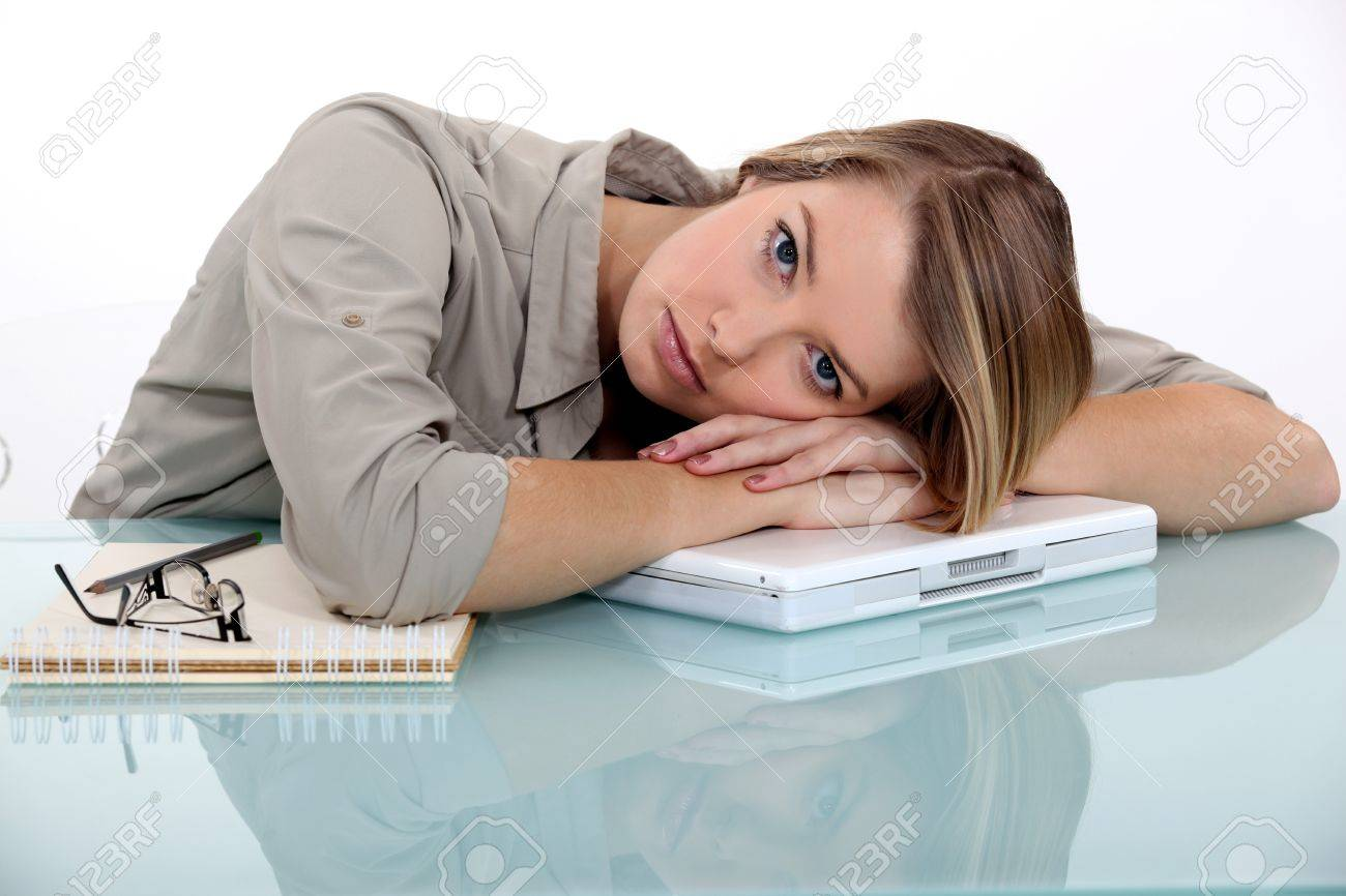Tired young woman Stock Photo - 11717777
