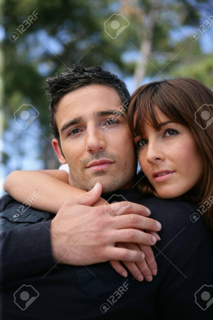 Portrait of a devoted couple Stock Photo - 11135512