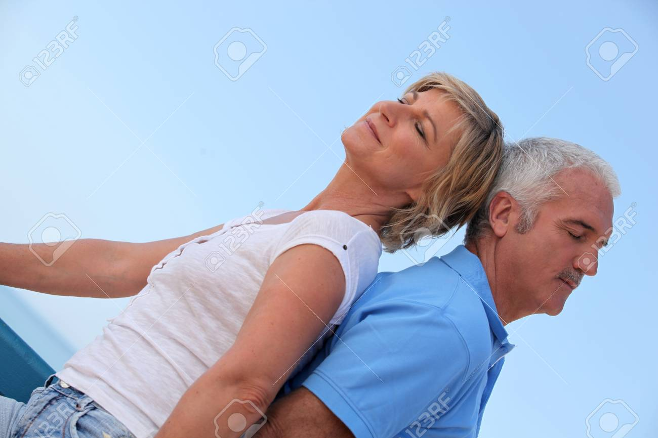 portrait of a couple outdoors Stock Photo - 11135391