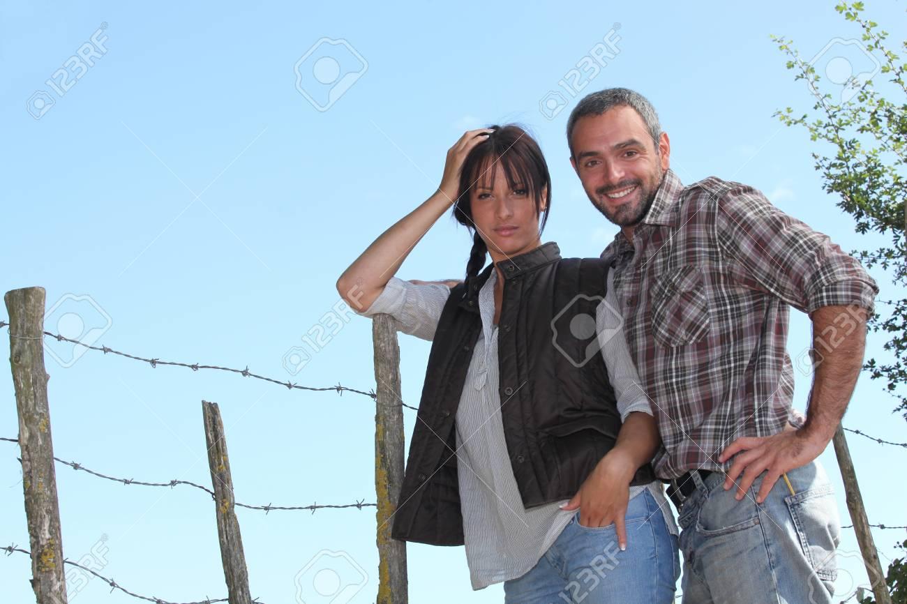 portrait of a couple Stock Photo - 11389622