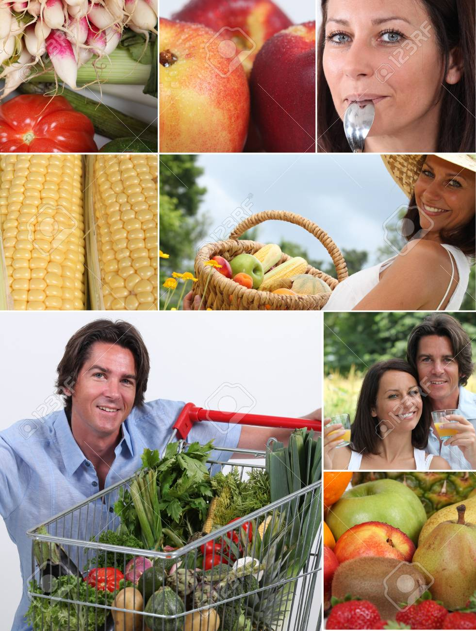 Nutrition and vegetables Stock Photo - 11603237