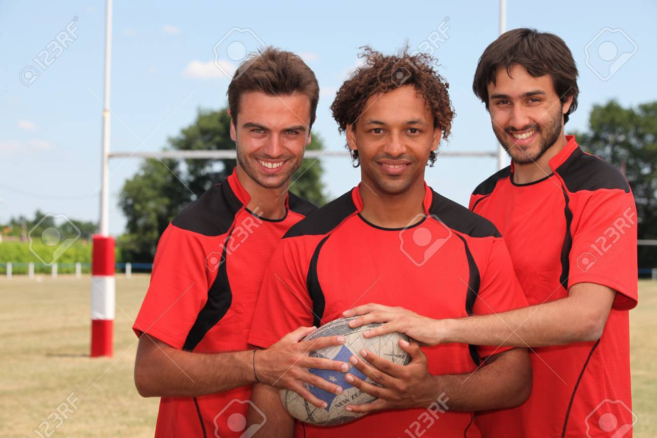 Rugby players Stock Photo - 11613130
