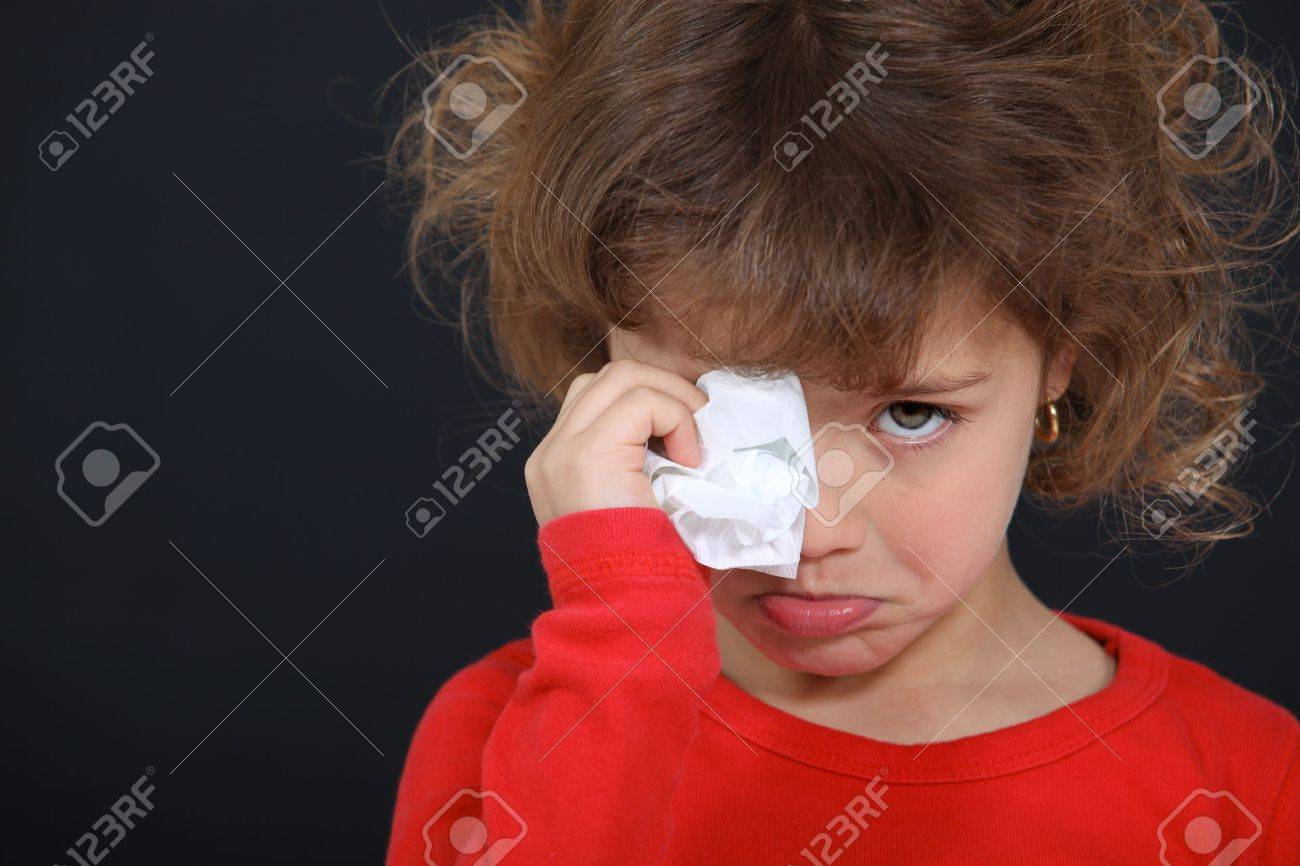 Crying little girl Stock Photo - 11897933