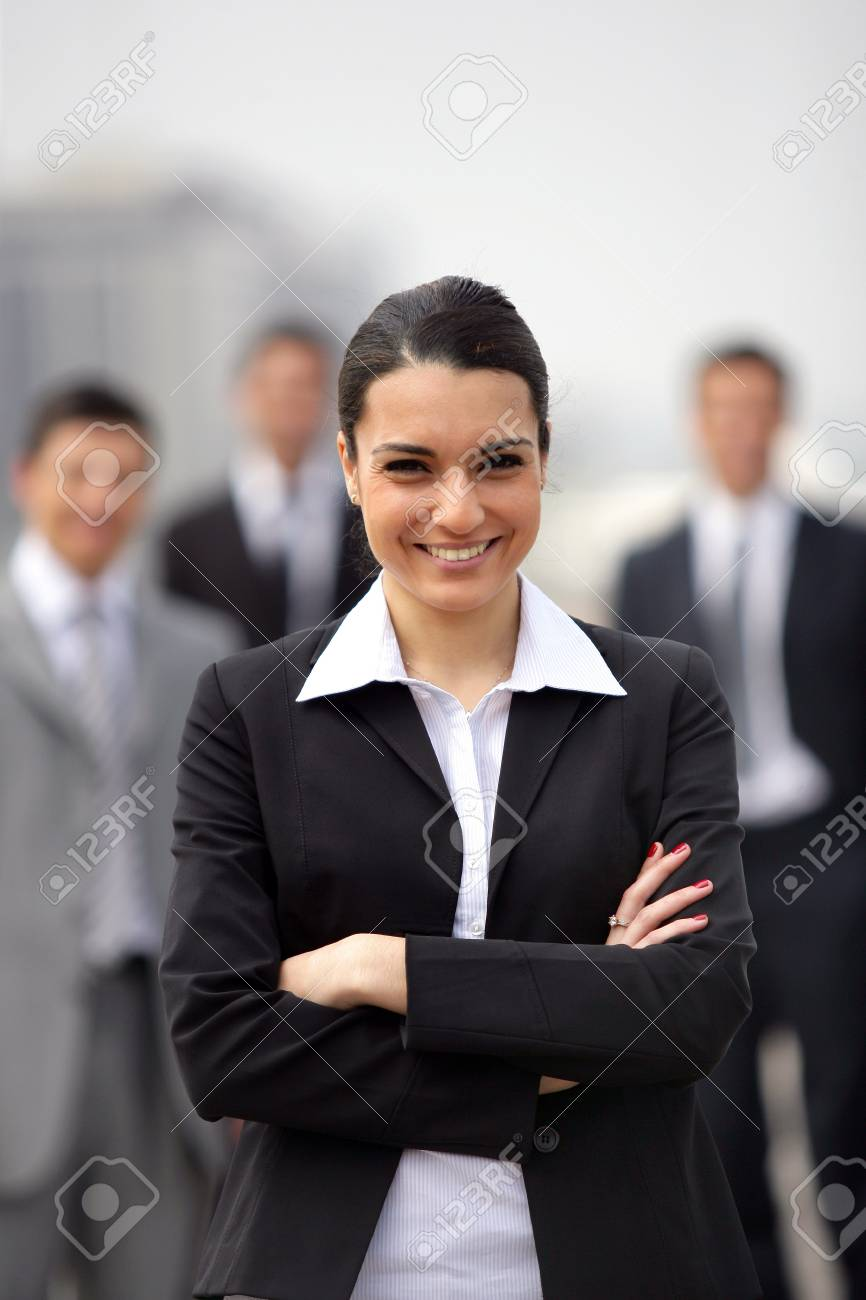 confident businesswoman Stock Photo - 11934909