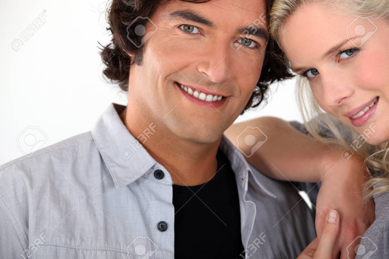Portrait of a smiling couple Stock Photo - 12057952