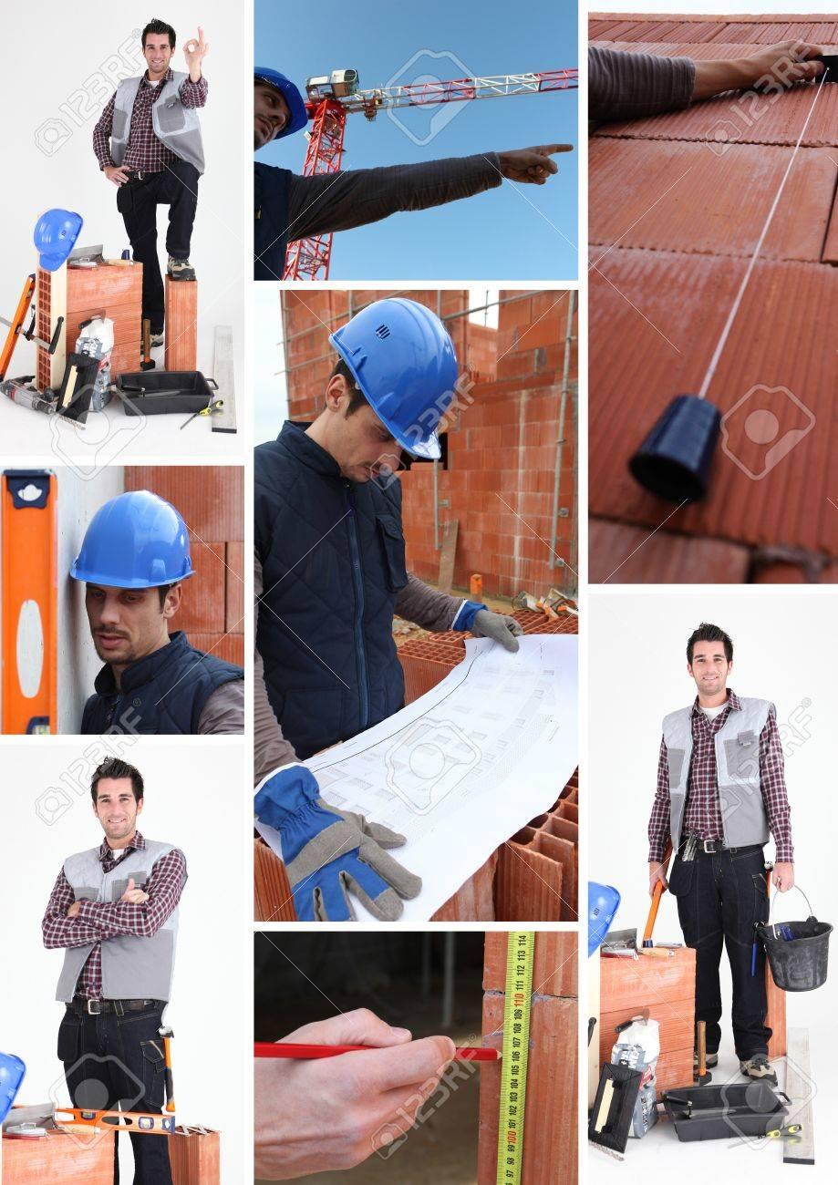 Bricklayer Stock Photo - 12092078