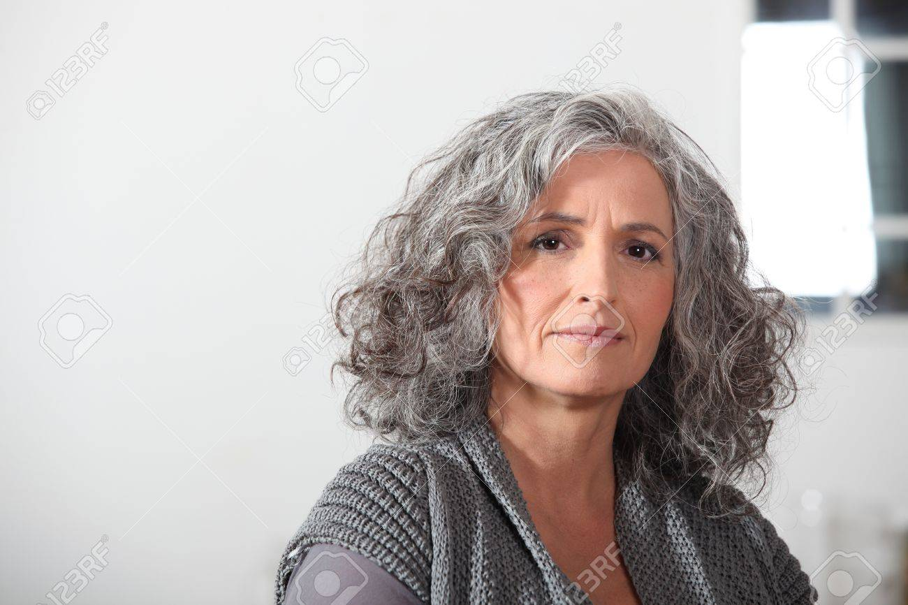Portrait of an older woman Stock Photo - 12097440