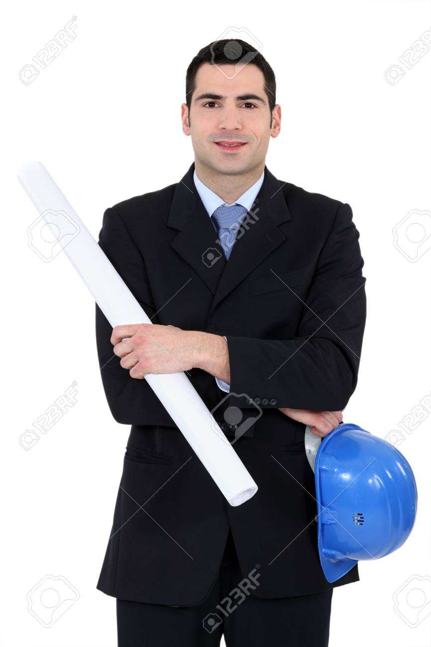 Portrait of architect Stock Photo - 12250655