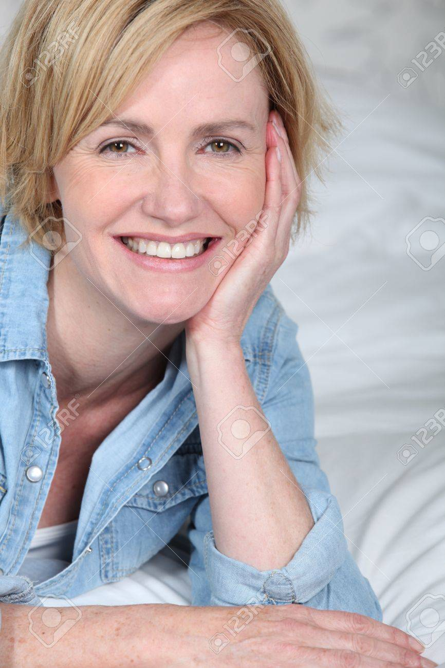 close-up of a woman Stock Photo - 12251853