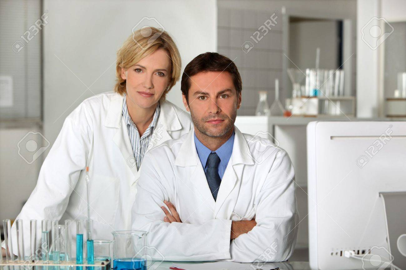 Scientists Stock Photo - 12500092