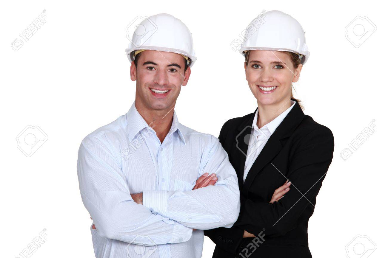 A team of engineers Stock Photo - 12530025