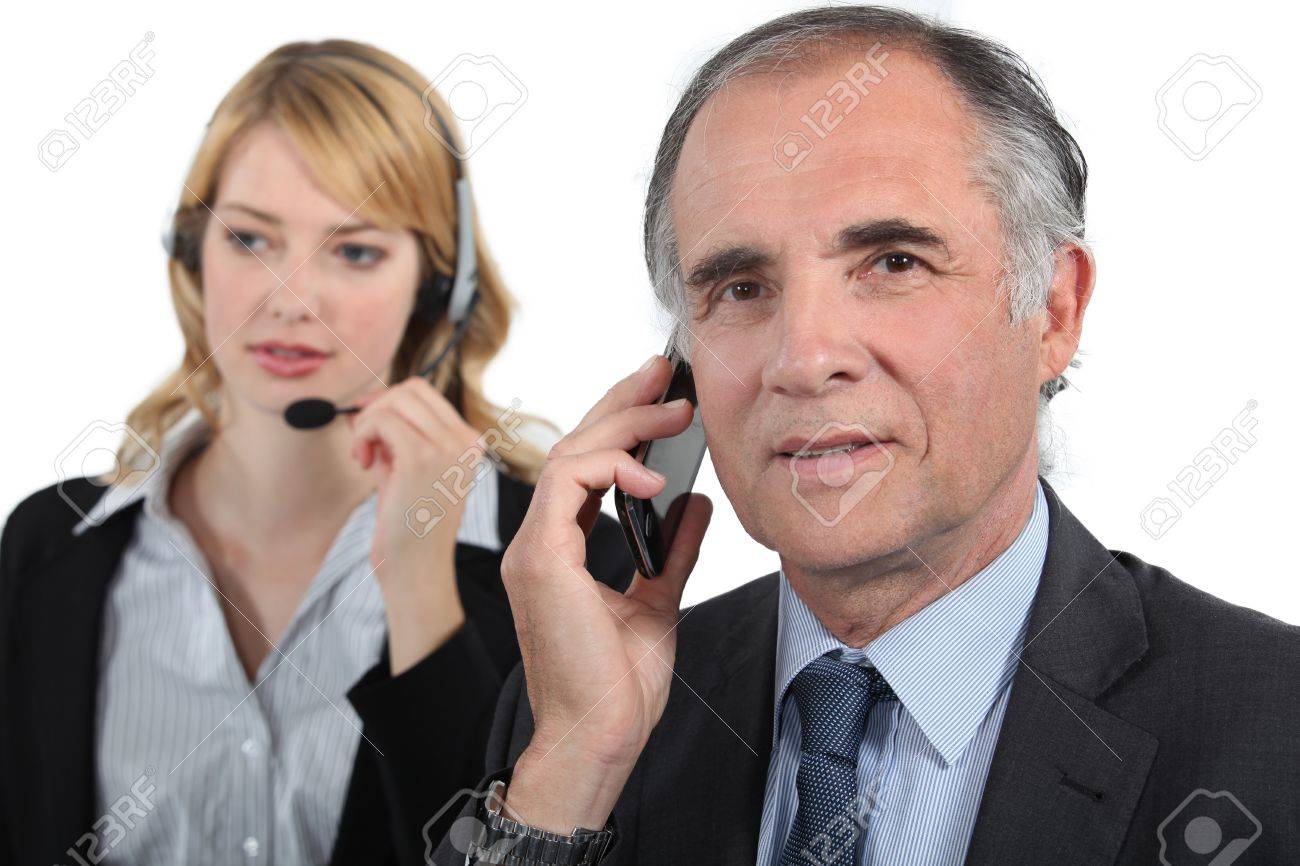 Telephone conversations Stock Photo - 13459048