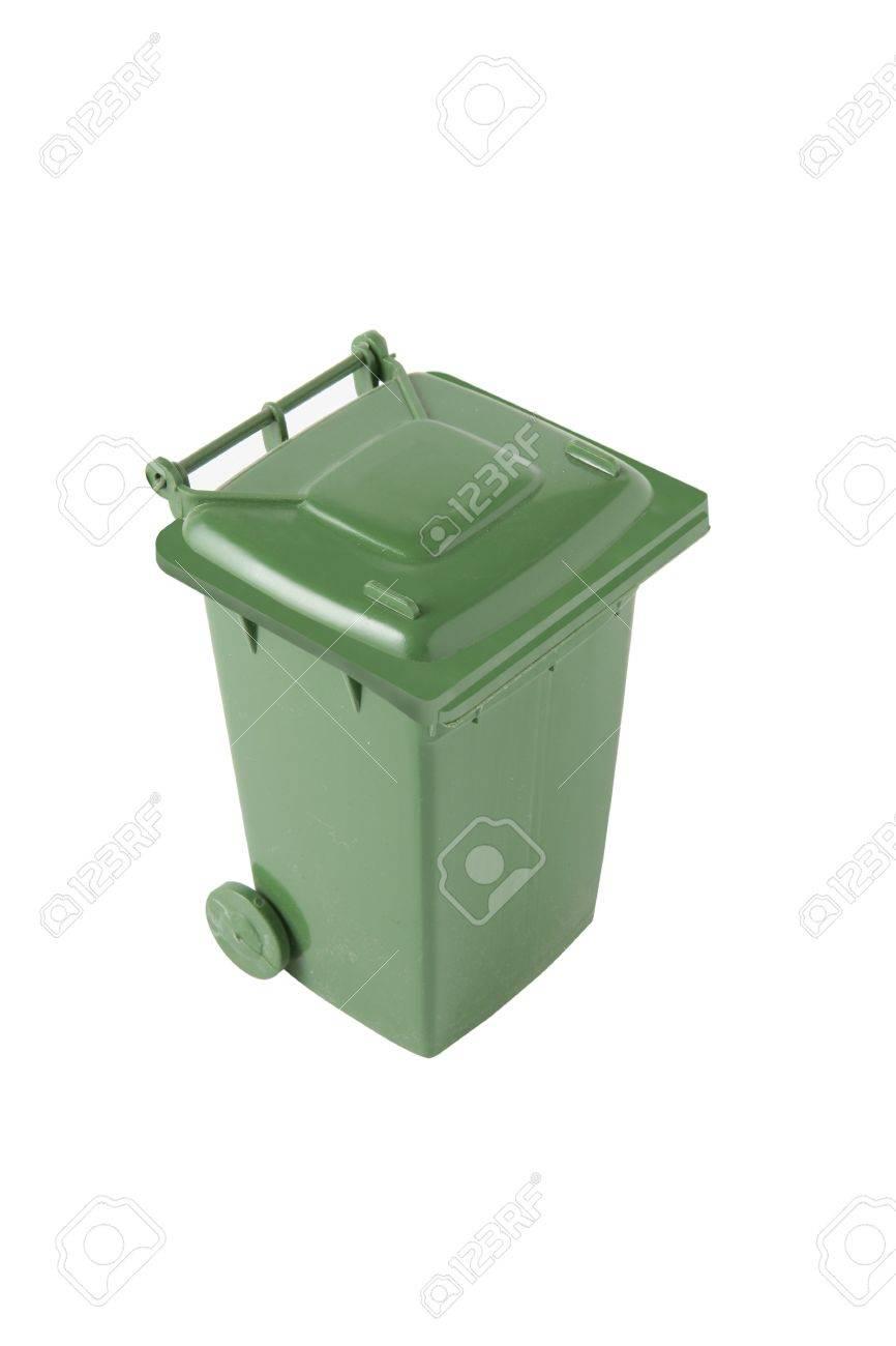 Green bin Stock Photo - 13448159