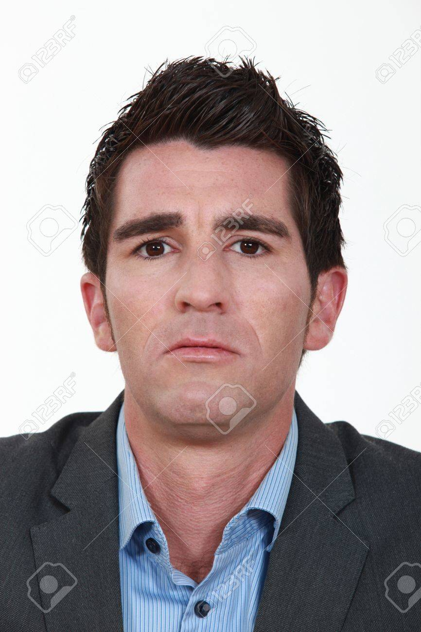 closeup portrait of man in his thirties Stock Photo - 13560305