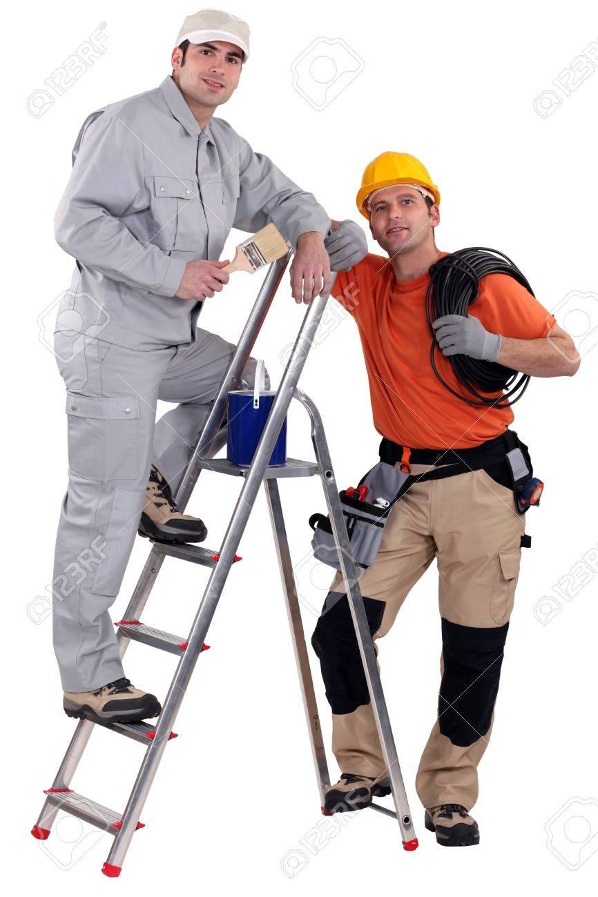 A team of tradesmen Stock Photo - 13852709