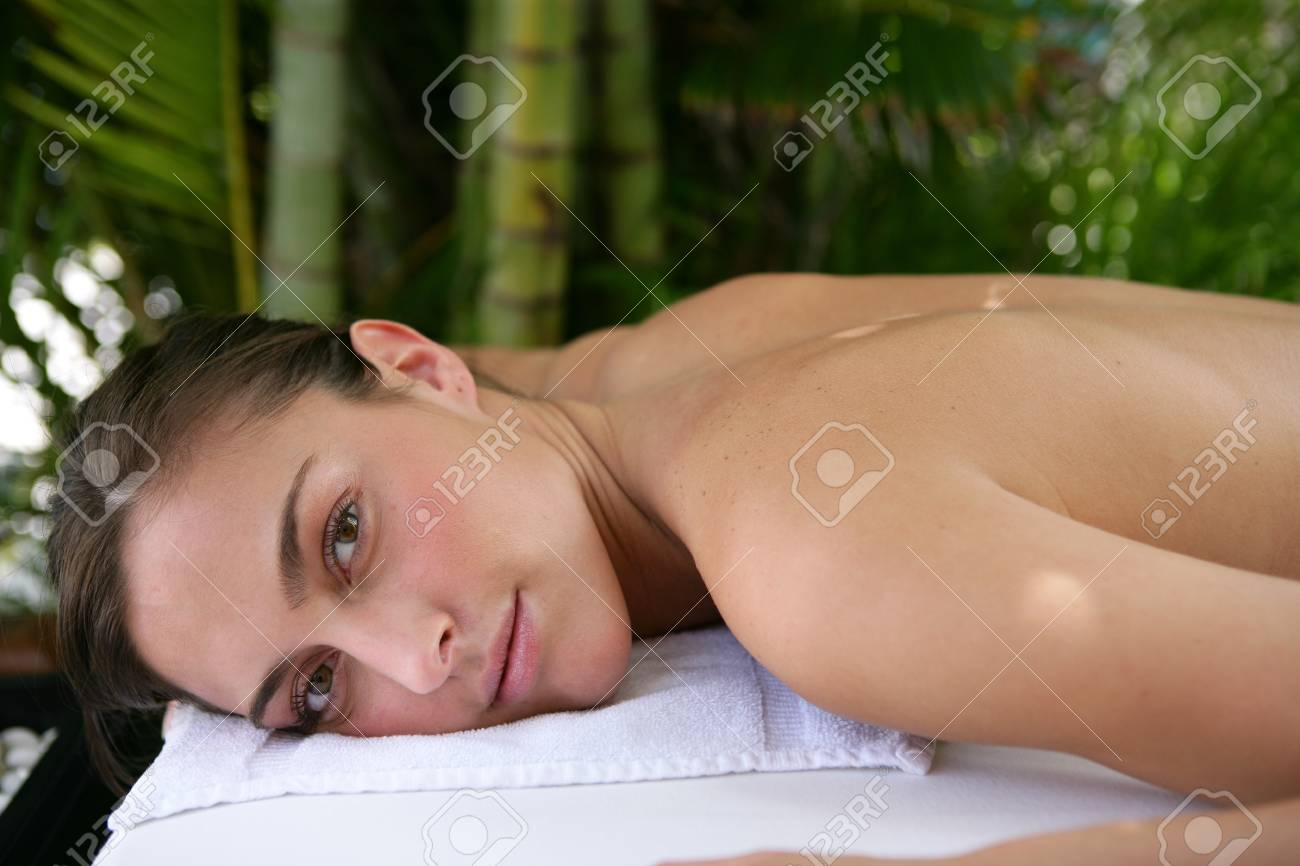 Woman at the spa Stock Photo - 13875844