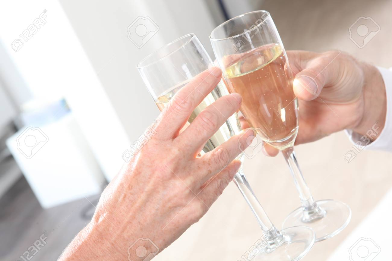 Making a toast Stock Photo - 13905609
