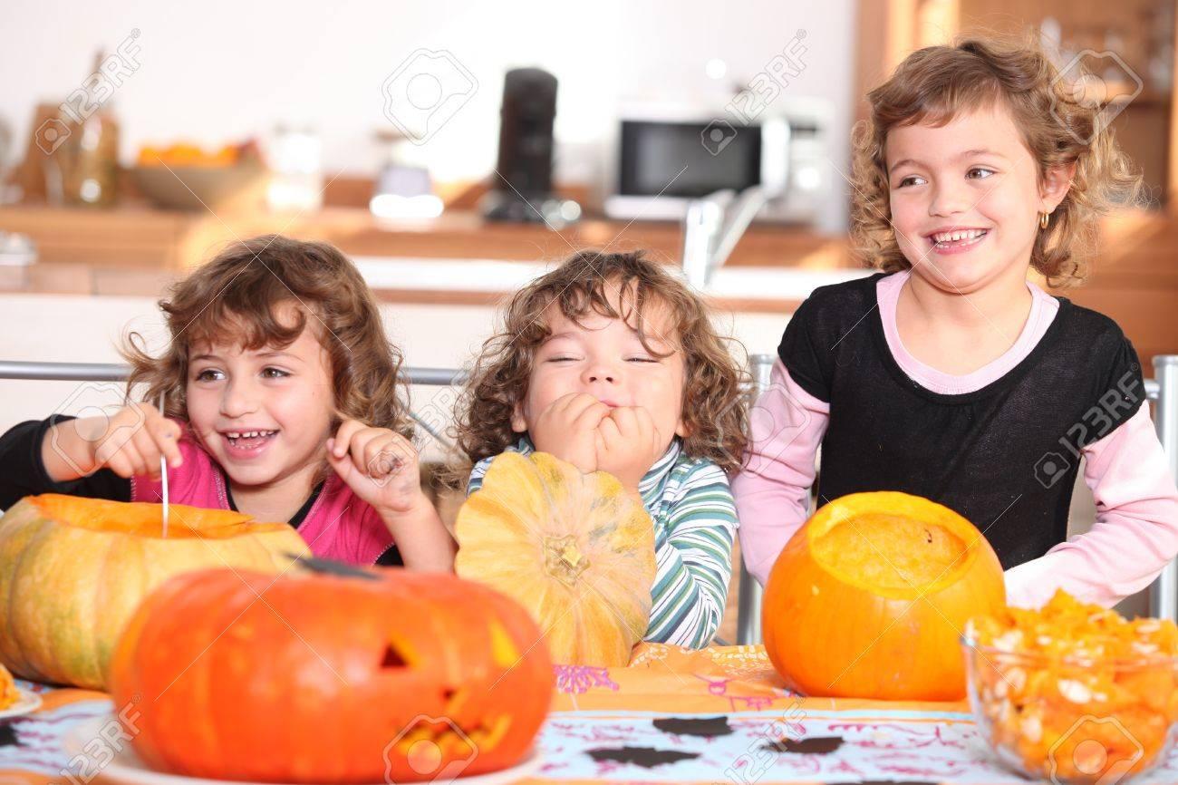 Cómo tallar una calabaza de Halloween
