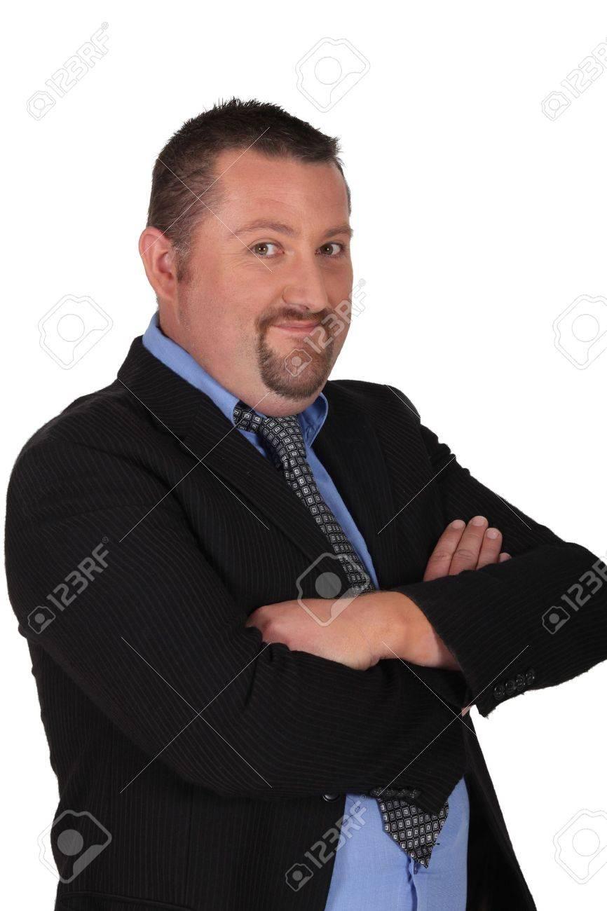 Cheerful businessman Stock Photo - 14210904