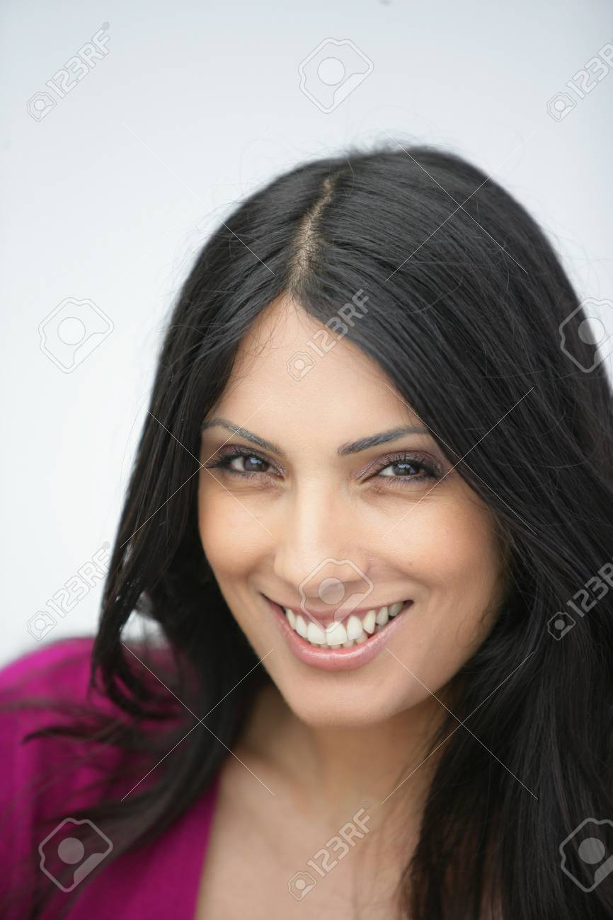 portrait of a beautiful Indian woman Stock Photo - 14203755
