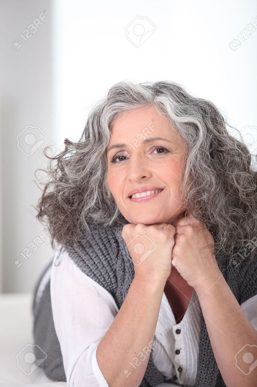Beautiful senior woman Stock Photo - 15411691