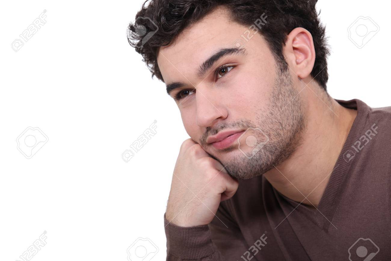 Bored man Stock Photo - 15718238