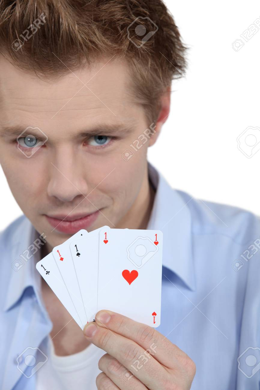 Ace, four of a kind Stock Photo - 15718220
