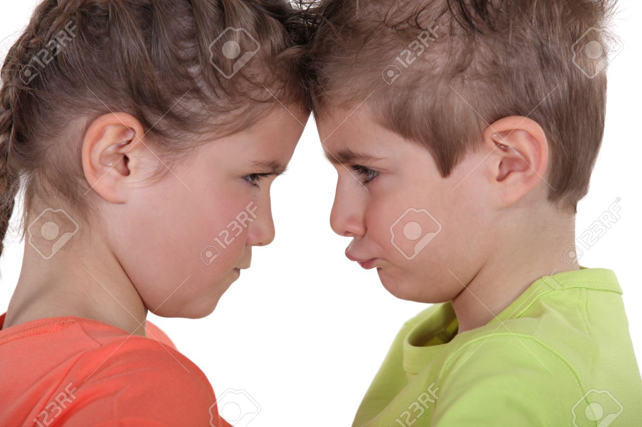 Grimace face clip art stock photo woman pulls a face in upset - Frowning Face Kids Pouting Face To Face