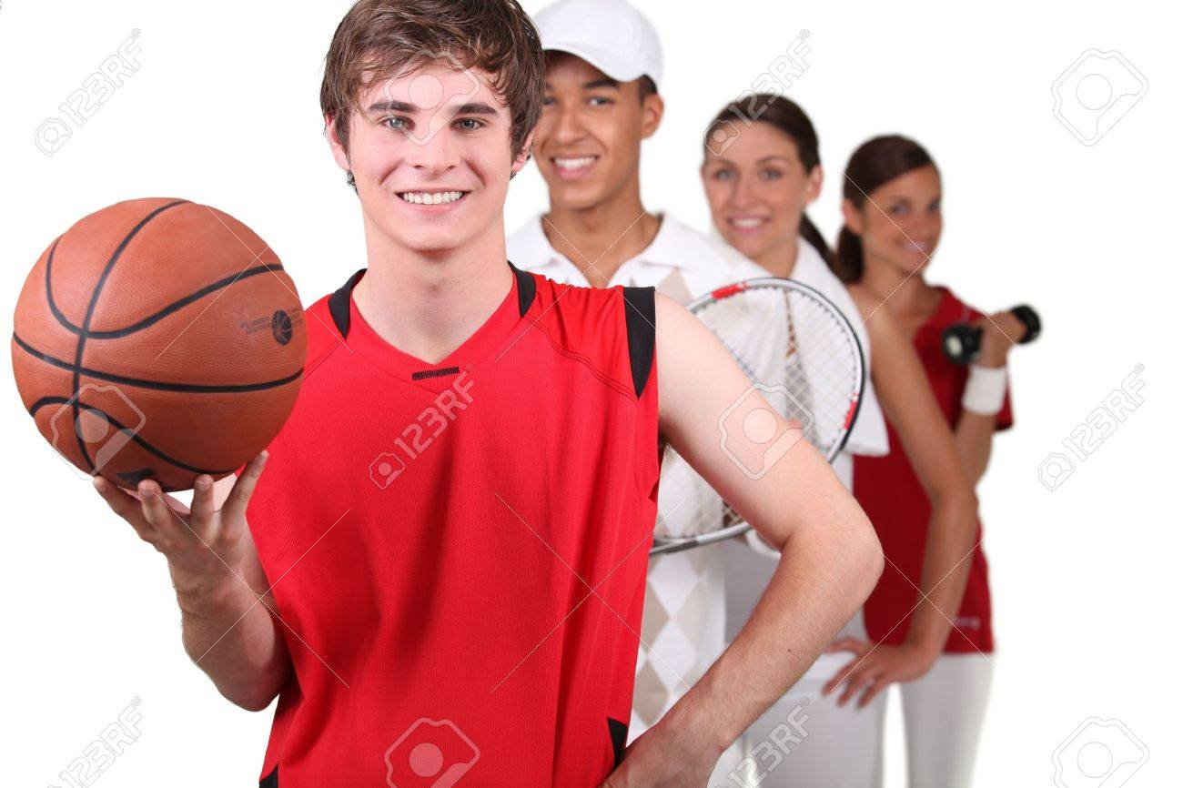 Sports players - 16336831