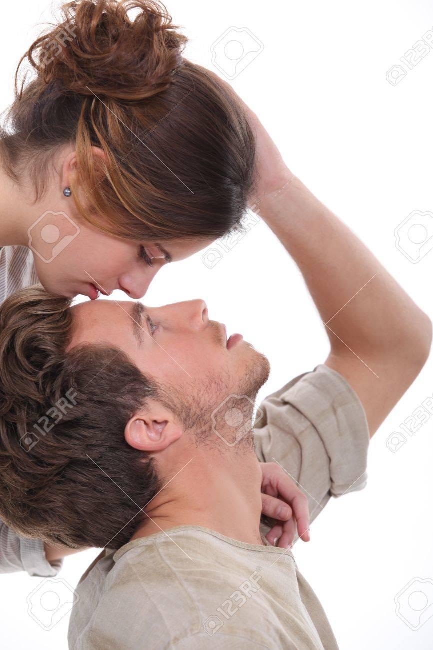 Stirn die küsse auf Küsse niemanden