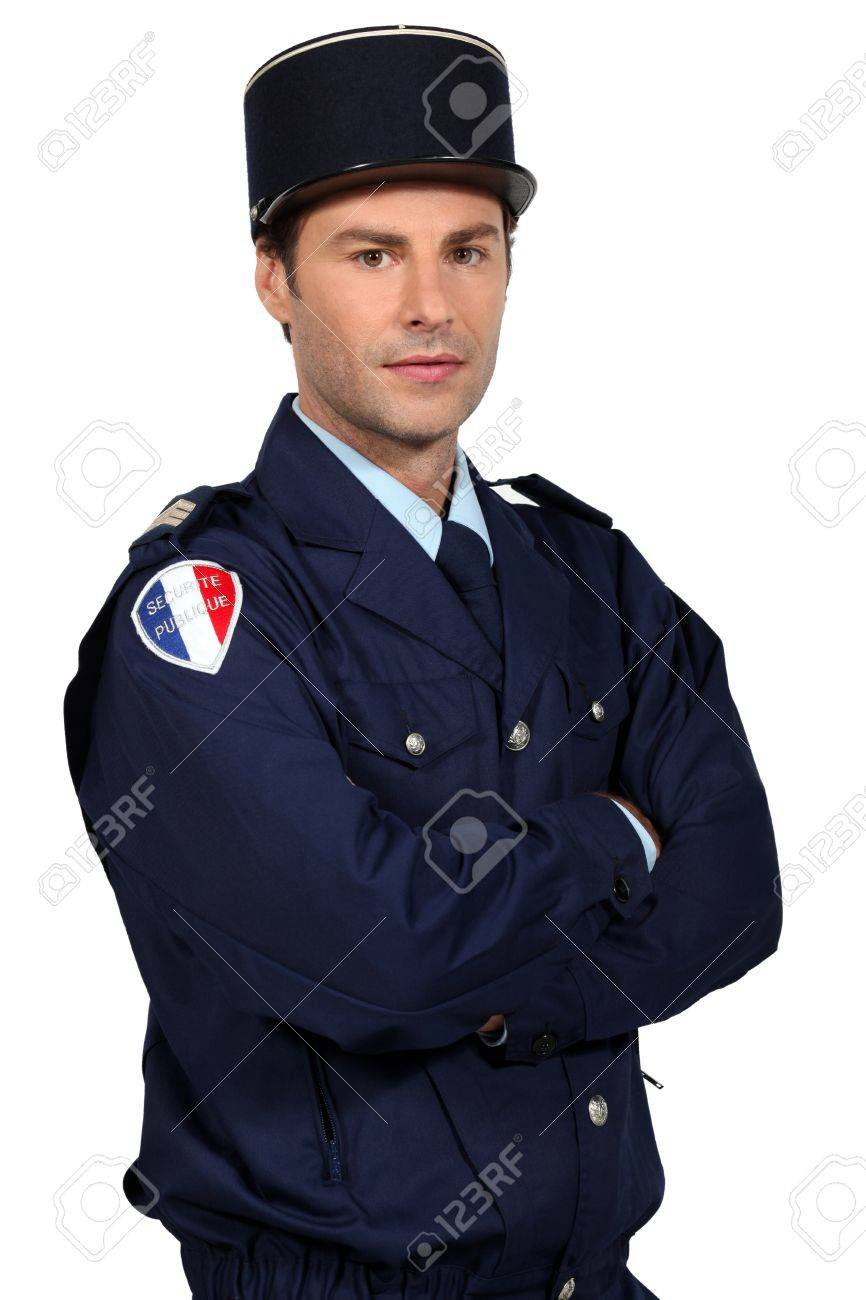 French policeman Stock Photo - 16411554