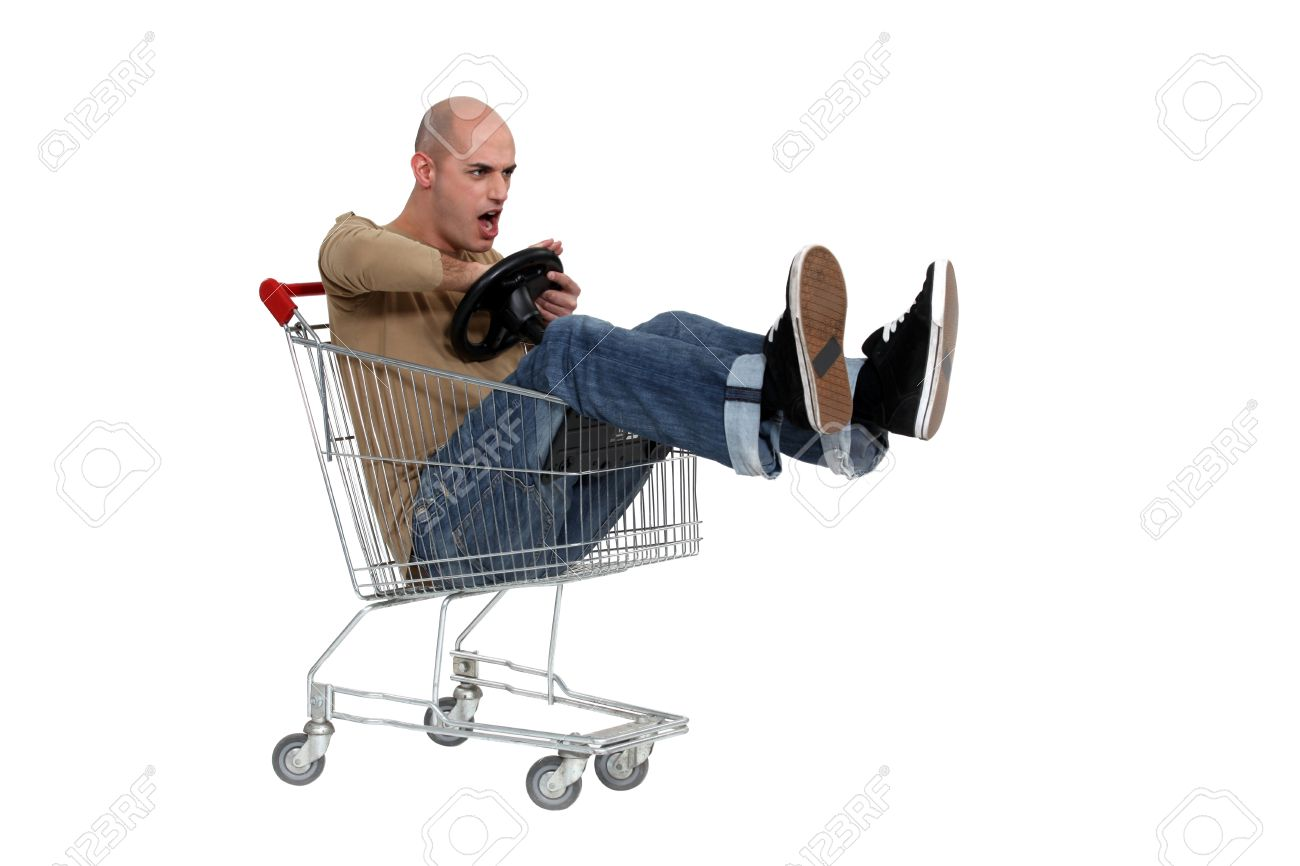 man trolley