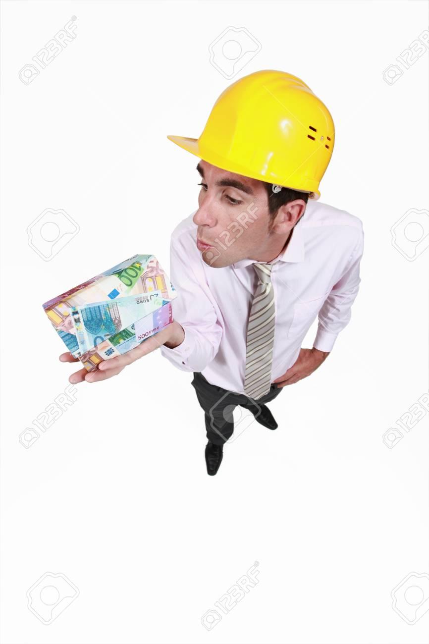 Construction costs money Stock Photo - 16671031