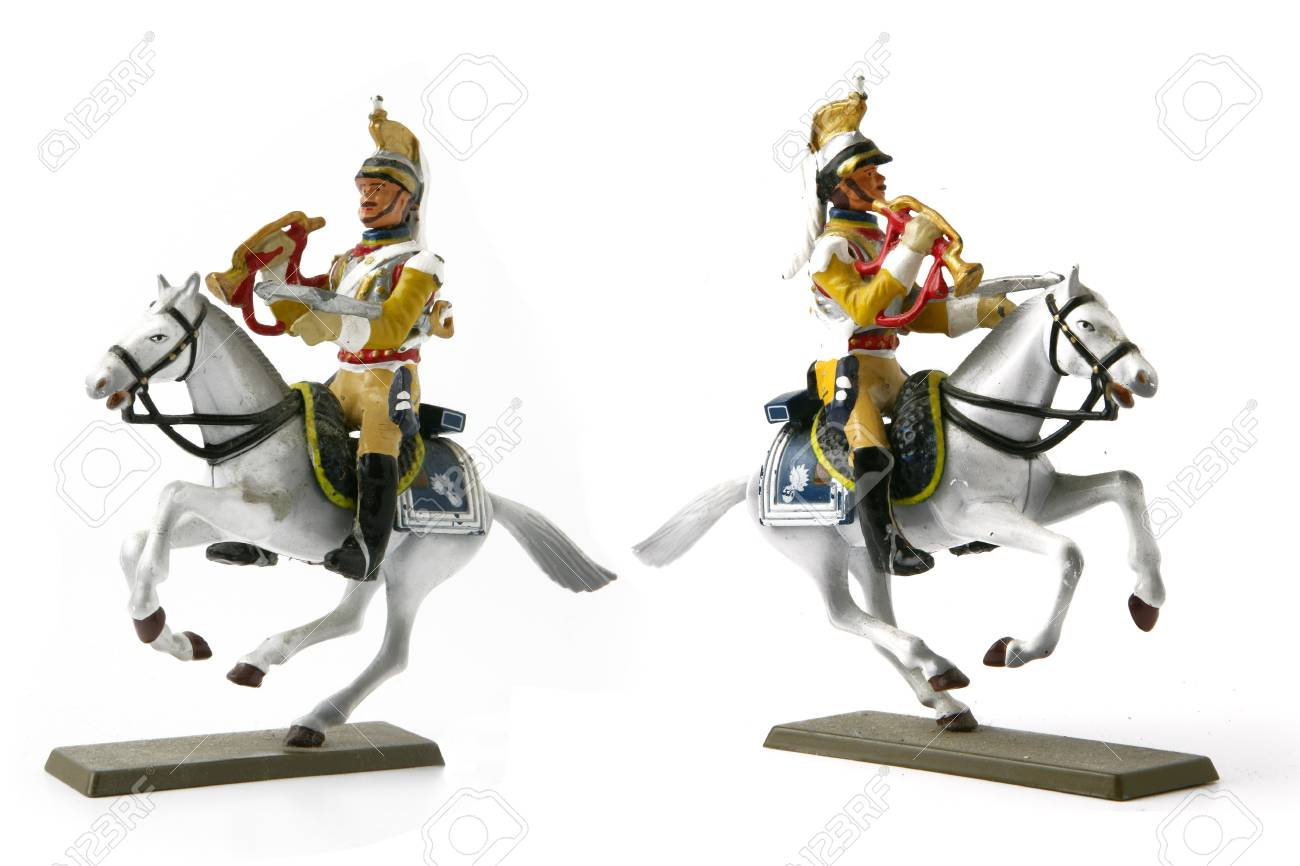 Two cavalier figurines Stock Photo - 17511539