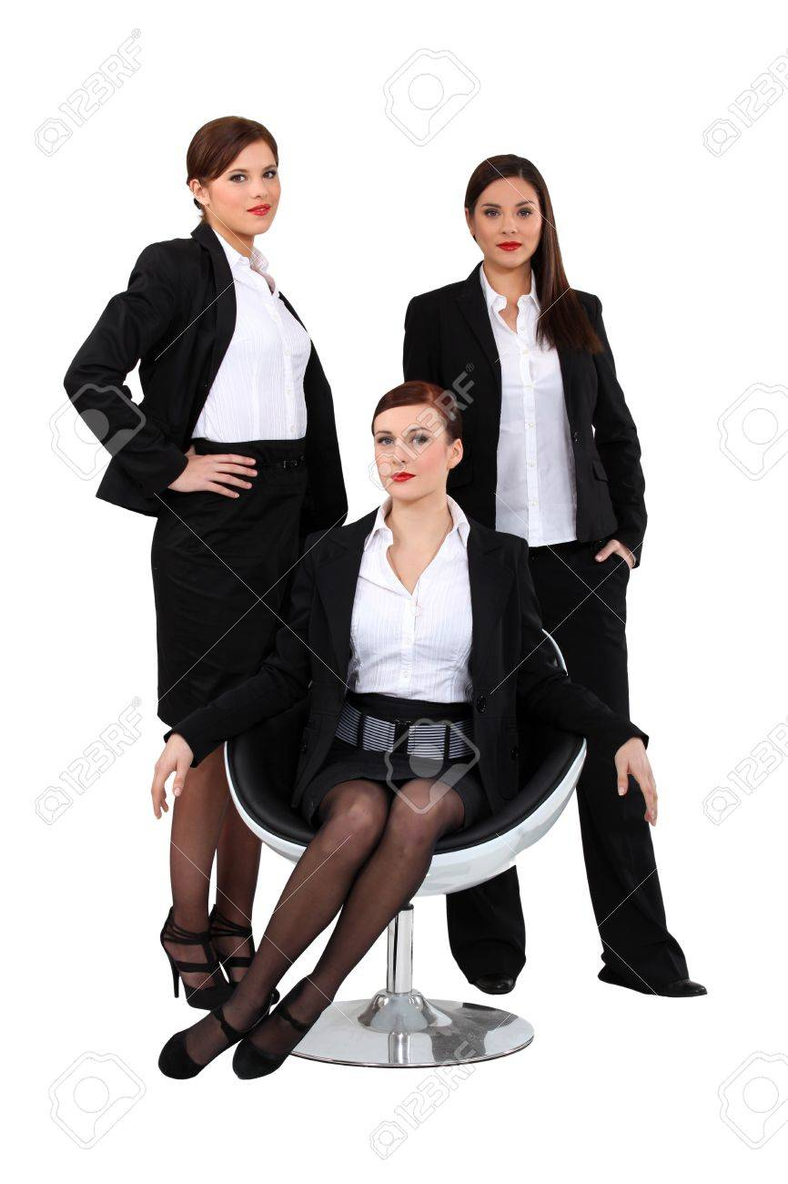 Businesswomen posing together Stock Photo - 17475978
