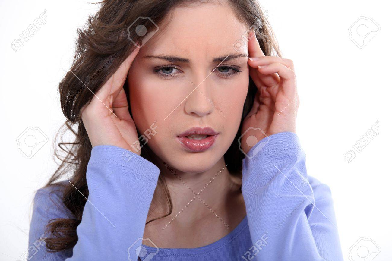 Headache Stock Photo - 17584421