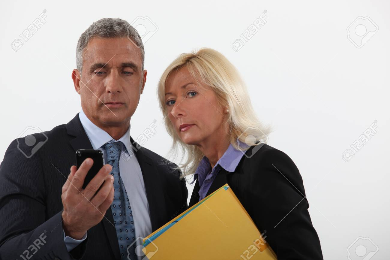 Mature business couple Stock Photo - 18100047