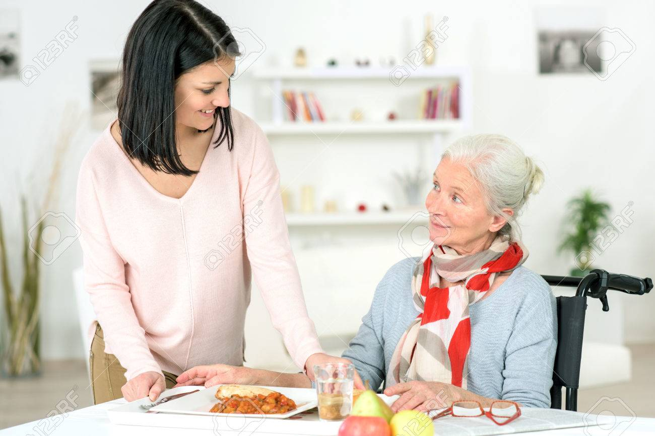 Care worker Stock Photo - 44435804